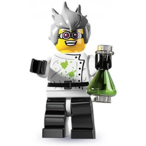 Lego Series 4 Collectible Minifigure Crazy Mad