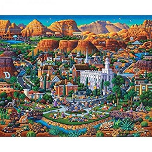 Dowdle Jigsaw Puzzle Utahs Dixie 500
