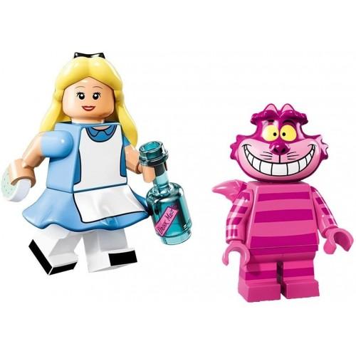 Lego Disney Minifigures 71012 Alice Cheshire Cat 2