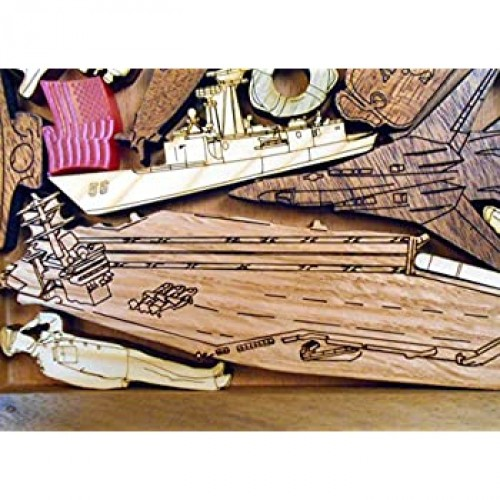 Creative Crafthouse Us Navy Puzzle Extremely Challenging Artistic 22 Pcs Hardwood Brain
