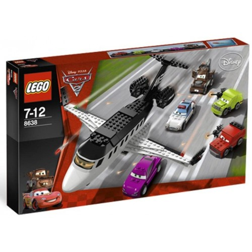 Lego Disneypixar Cars 2 Spy Jet Escape