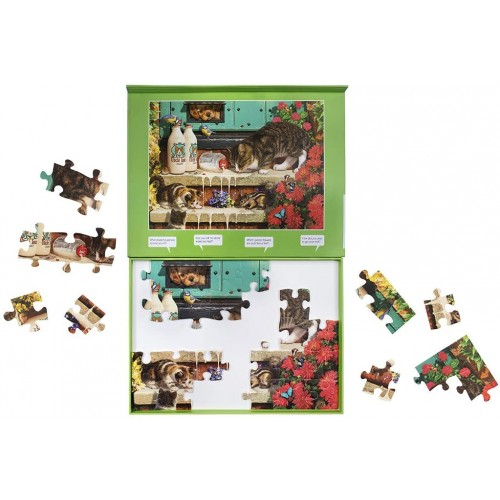 Active Minds 35 Piece Cats Whiskers Jigsaw Puzzle Specialist Alzheimersdementia Activities
