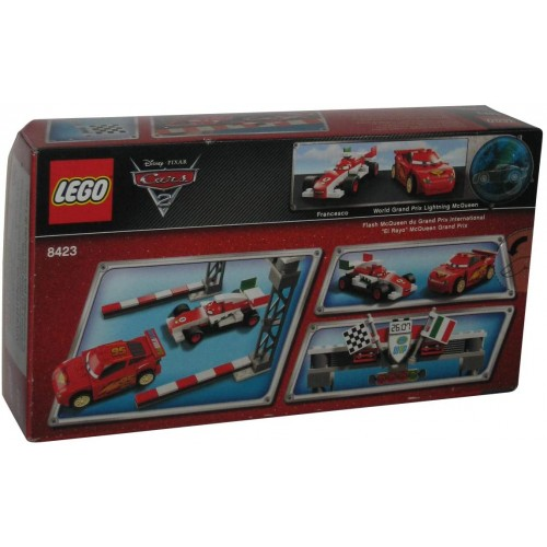 Lego Disney Cars Exclusive Limited Edition Set 8423 World Grand Prix Racing
