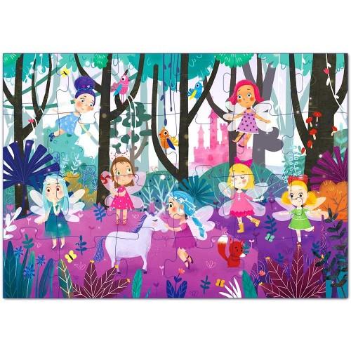Puzzles Ages 35 Premium 24 Piece Fairy Forest Floor 48 Preschool Jigsaw
