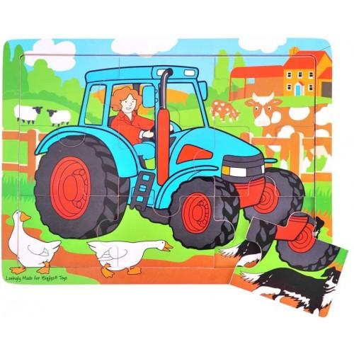 Bigjigs Toys Bj726 Tray Puzzle