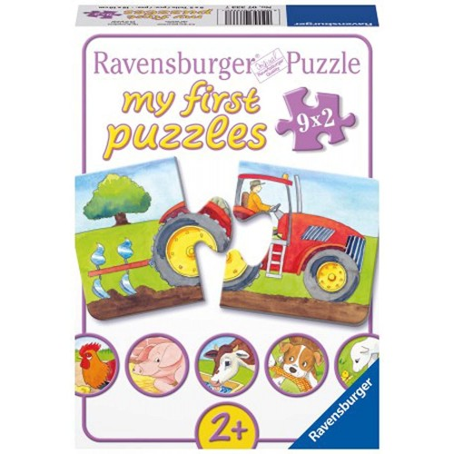 Ravensburger At The Farm My First Puzzles