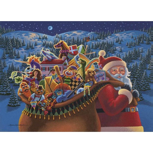 Dowdle Jigsaw Puzzle Christmas Delivery 100
