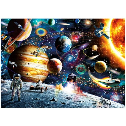 Space Puzzle 1000 Piece Jigsaw Kids Adult Planets In