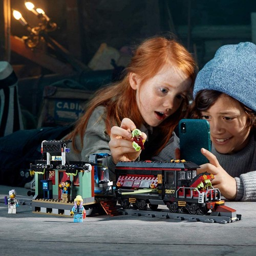 Lego Hidden Side Ghost Train Express 70424 Building Kit Toy For 8 Boys And Girls Interactive