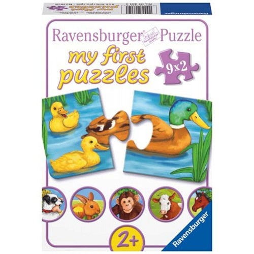 Adorable Animals My First Puzzles