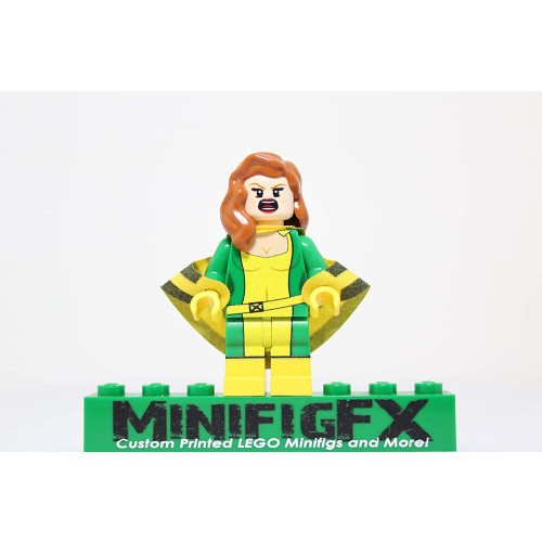 Lego Custom Siryn Minifig Marvel Super Hero Theresa Cassidy Banshee xmen