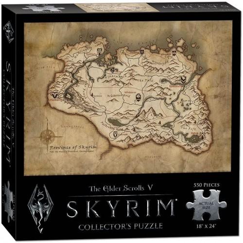 Usaopoly The Elder Scrolls V Skyrim Map Puzzle 550