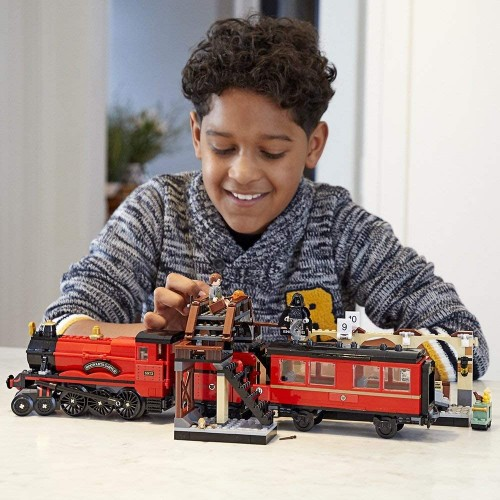 Lego Harry Potter Hogwarts Express 75955 Toy Train Building Set Includes Model And