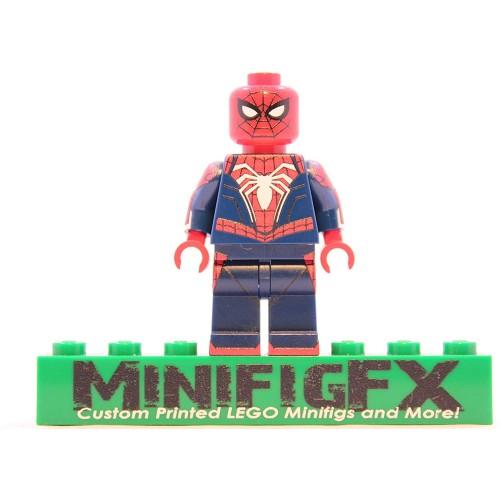 Lego Ps4 Spiderman Advanced Suit Minifig Marvel Super Hero