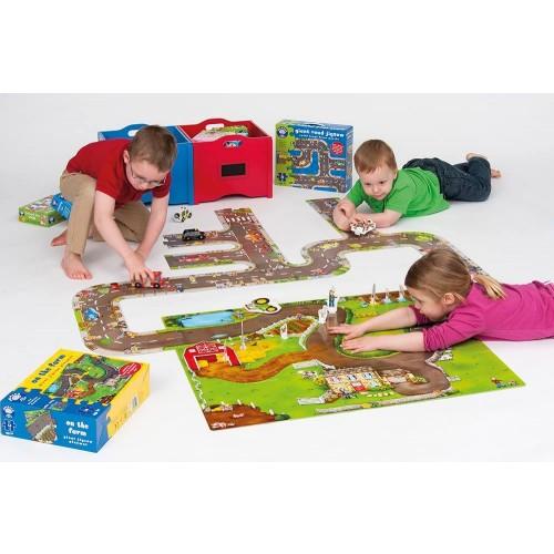 Orchard Toys On The Farm Giant Jigsaw Floor Puzzle 12