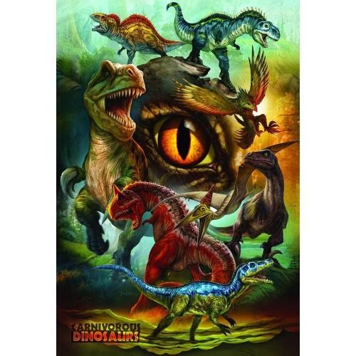 Eurographics 61000359 Carnivorous Dinosaurs 100Piece