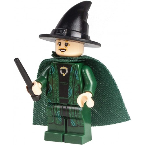 Lego Harry Potter Professor Mcgonagall With Green Cape And