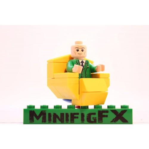 Lego Custom Professor x Minifigure Marvel xmen Mutant Charles xavier W Hover Chair Made