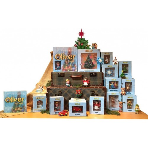 Oliver The Ornament Family Puzzle Christmas
