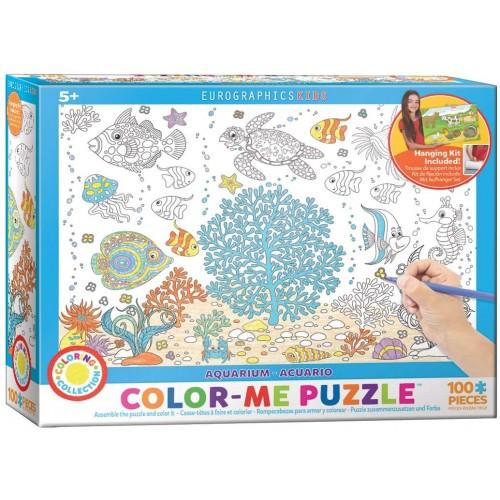 Eurographics Aquarium Color Me Puzzle 100