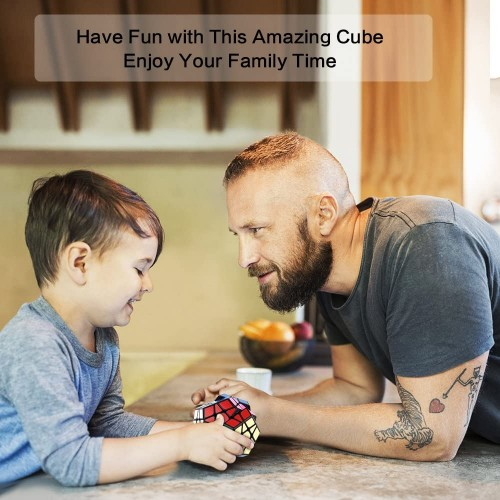 Megaminx Cube Roxenda 3x3x3 Pentagonal Speed Dodecahedron Magic Puzzle