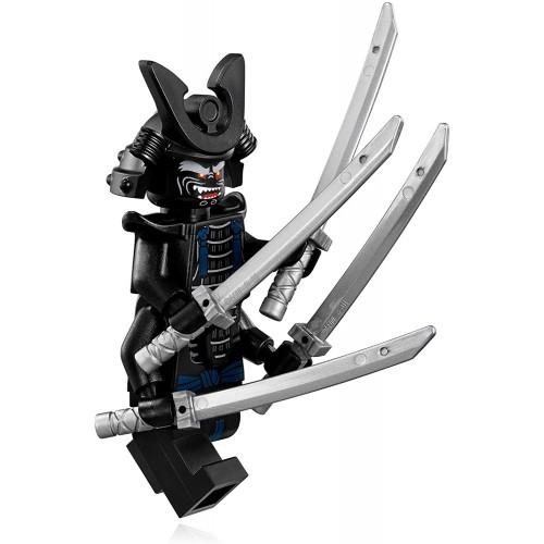 The Lego Ninjago Movie Minifigure Lord Garmadon With Body Armor