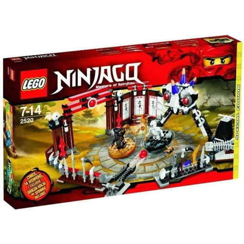 Lego Ninjago Exclusive Limited Edition Set 2520 Battle Arena Includes Cole Dragon Ninja