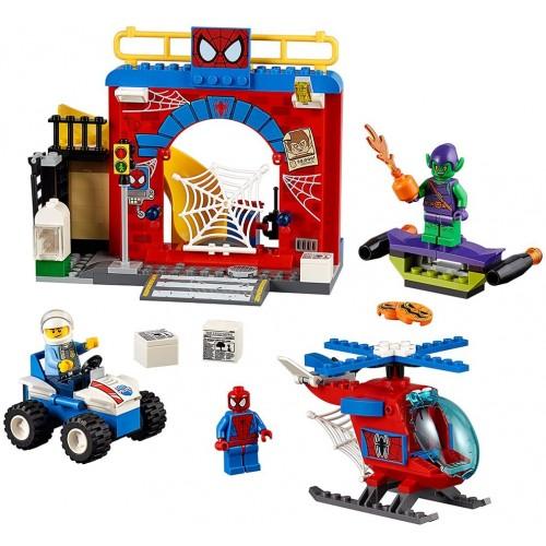 Lego Juniors Spiderman Hideout