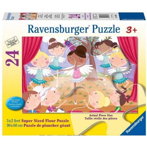 Ravensburger Ballet Beauties Super Sized Floor Puzzle 24 Piece Jigsaw Every Is Unique