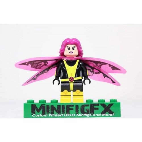 Lego Custom Pixie Minifig Marvel Super Hero Megan Gwynn xmen