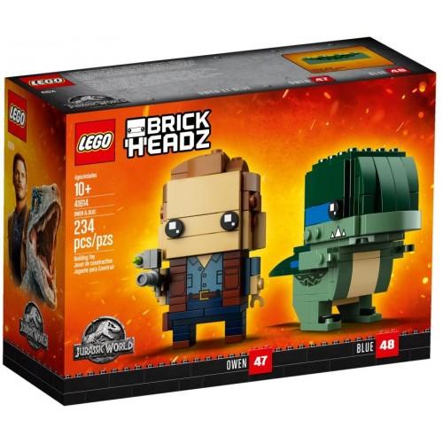 Lego Brick Headz 41614 Owen Blue 234