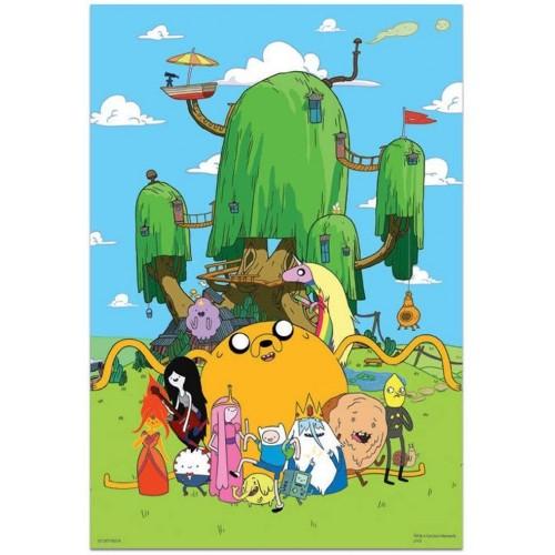 Adventure Time 300 Piece Puzzle With Bonus Poster