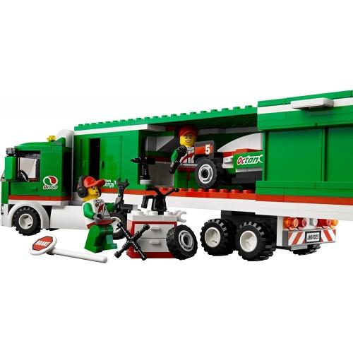 Lego City 60025 Grand Prix Truck Toy Building Set Mfg Age 5 12