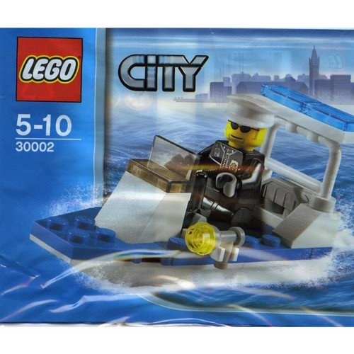 Lego City Police Boat 30Piece Construction Toy