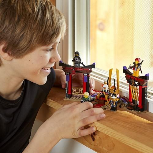 Lego Ninjago Masters Of Spinjitzu Throne Room Showdown 70651 Building Kit 221