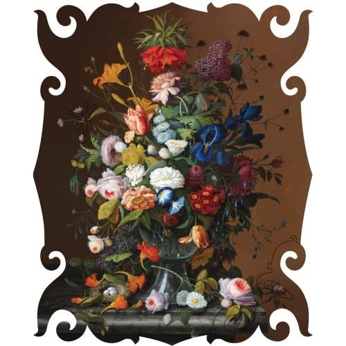 Artifact Puzzles Severin Roesen Flower Still Life Wooden Jigsaw
