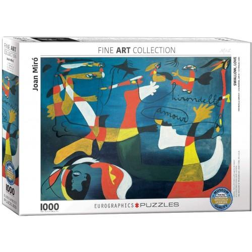 Eurographics Swallow Love By Joan Miro 1000 Piece