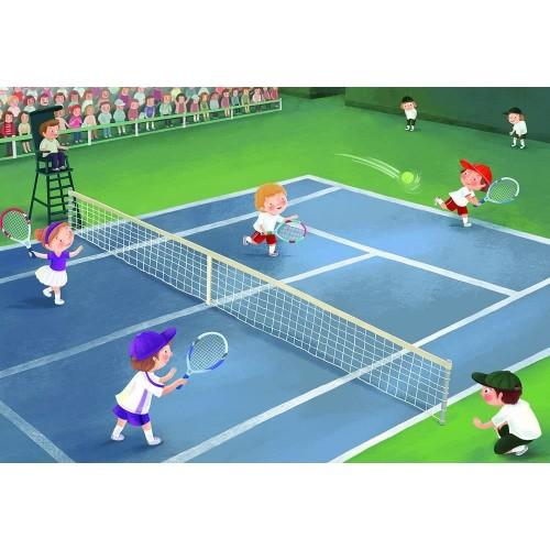 Tennis Junior League Puzzle