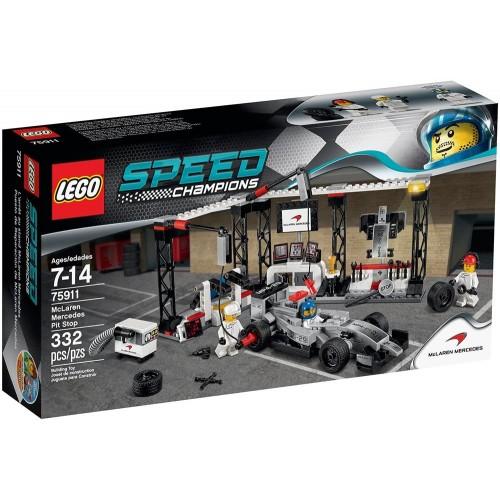 Lego Speed Champions Mclaren Mercedes Pit Stop