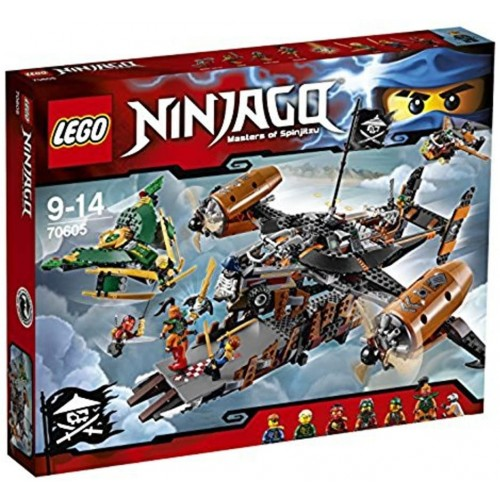 2016 New Lego Ninjago 70605 Misfortunes Keep 754Pcs Building