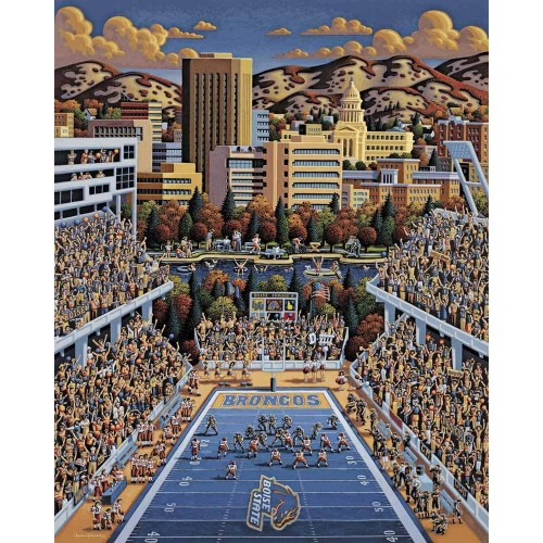 Dowdle Jigsaw Puzzle Boise State Broncos 500