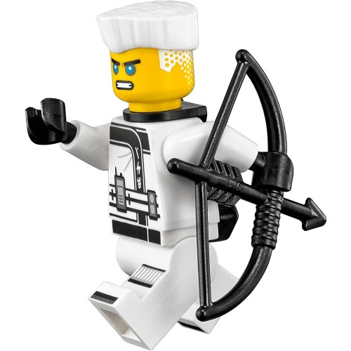 The Lego Ninjago Movie Minifigure Zane With Hair Quiver