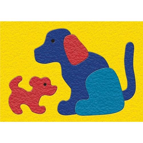 Lauri Crepe Rubber Puzzles Dog
