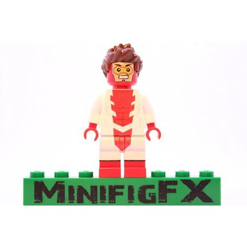Lego Impulse Minifig Dc Comics Young Justice Super Hero Bart