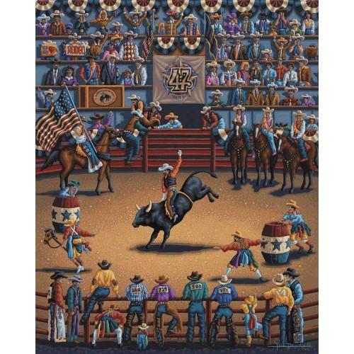 Dowdle Jigsaw Puzzle Rodeo Days 100