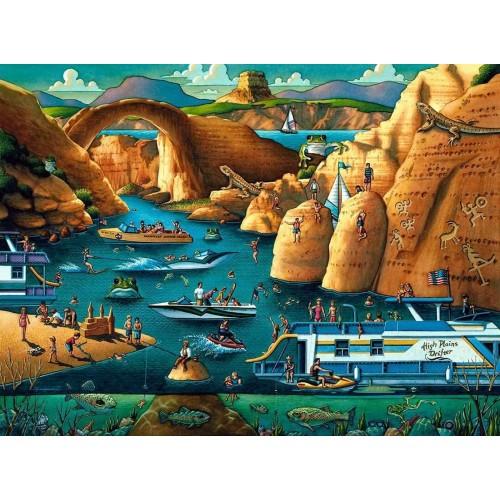 Dowdle Jigsaw Puzzle Lake Powell 500