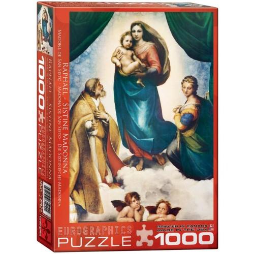 Eurographics Sistine Madonna By Raphael 1000 Piece