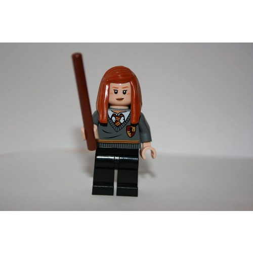 Ginny Weasley Gryffindor With Wand Lego Harry Potter