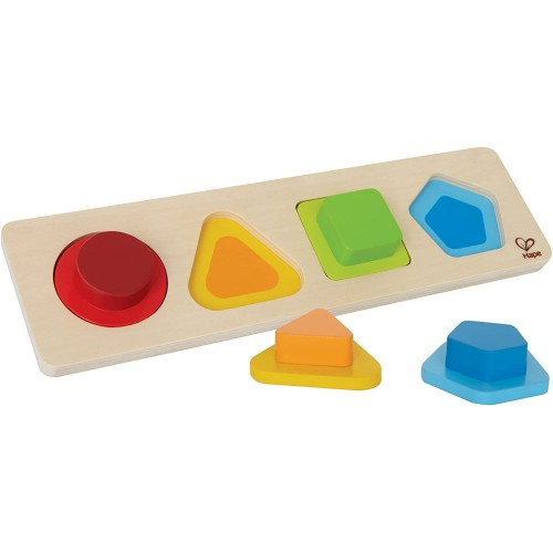 Hape First Shapes Toddler Wooden Learning