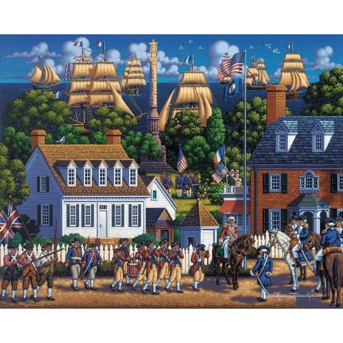 Dowdle Jigsaw Puzzle Yorktown National Historic Park 500